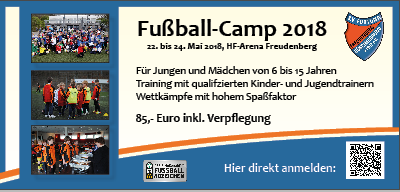 Fussball Camp 2018